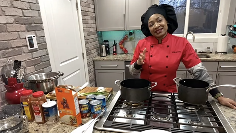 Virtual Soul Food Cooking Class with Cathy's Kitchen kicks off Black History Month at UMSL