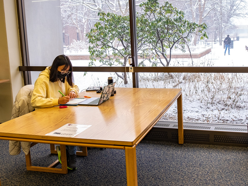 Eye on UMSL: Enjoying winter in warmth