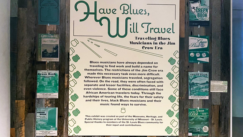 History MA students bring 'Green Book' to life through exhibit at the National Blues Museum