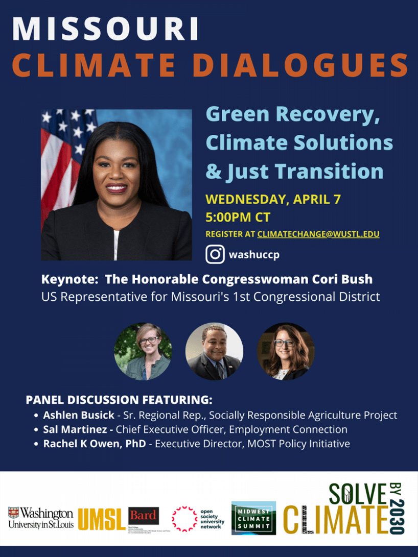 Green Recovery, Climate Solutions and a Just Transition