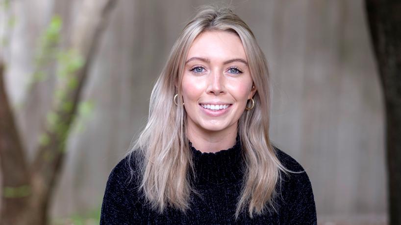 Communication student Briana Riley learns from internship on Alderman Bill Stephens' winning campaign
