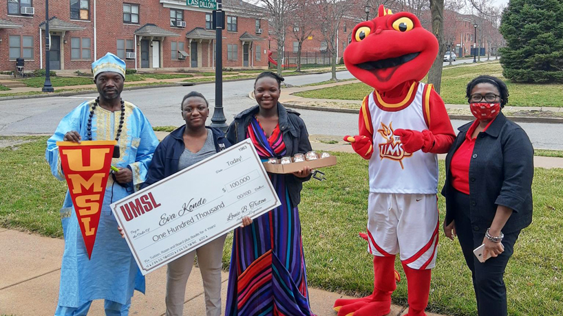 Opportunity Scholarship empowers academically gifted high school graduates to study at UMSL