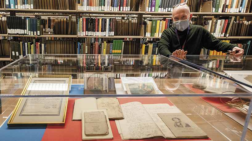Mercantile Library celebrates 175 years with an exhibition honoring its place as the oldest library west of the Mississippi