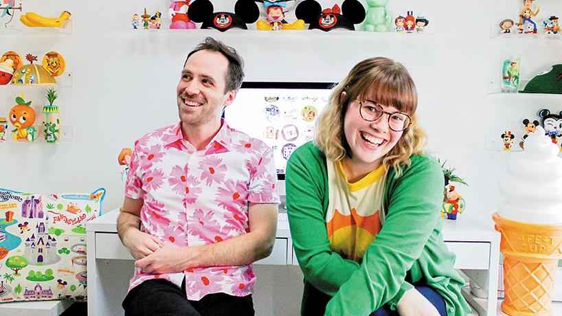 Pretend Friends: An UMSL love story blossoms into a successful design studio