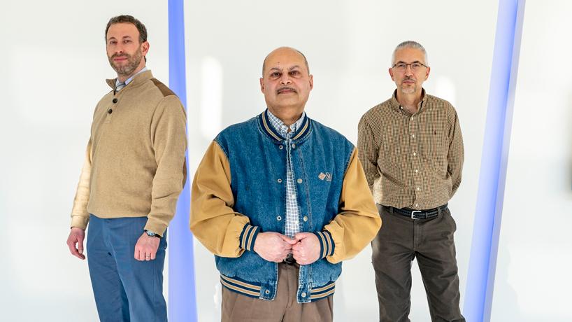Tareq Nabhan, Sanjiv Bhatia and Michael Howe
