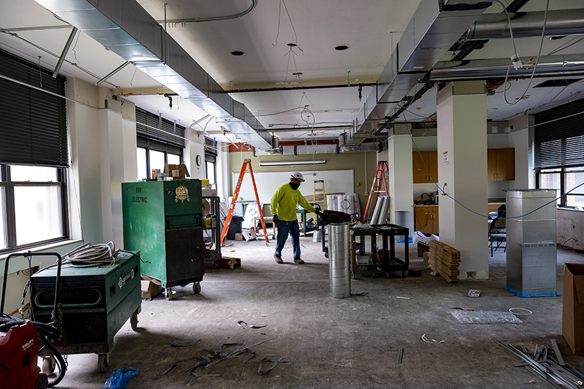 College of Nursing simulation lab construction