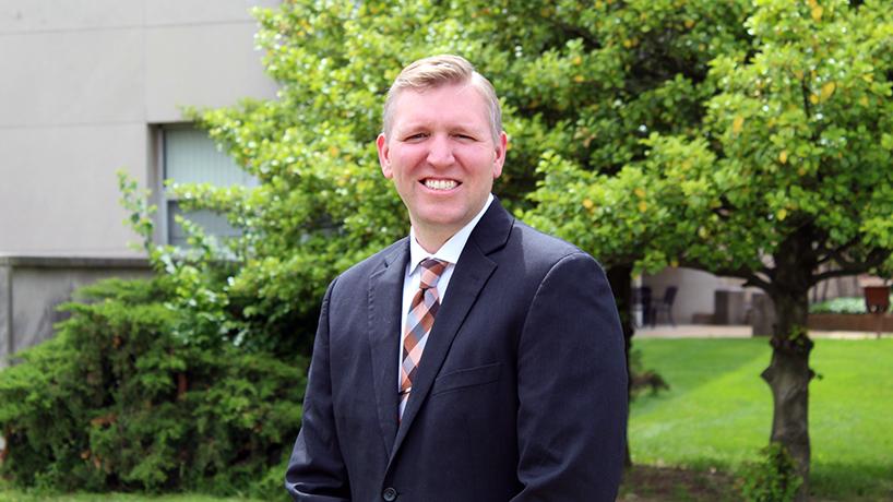 Veteran Brad Cary builds passion for ocular disease career in UMSL College of Optometry
