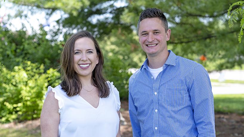 Elise Schaller and Robert Bohnert