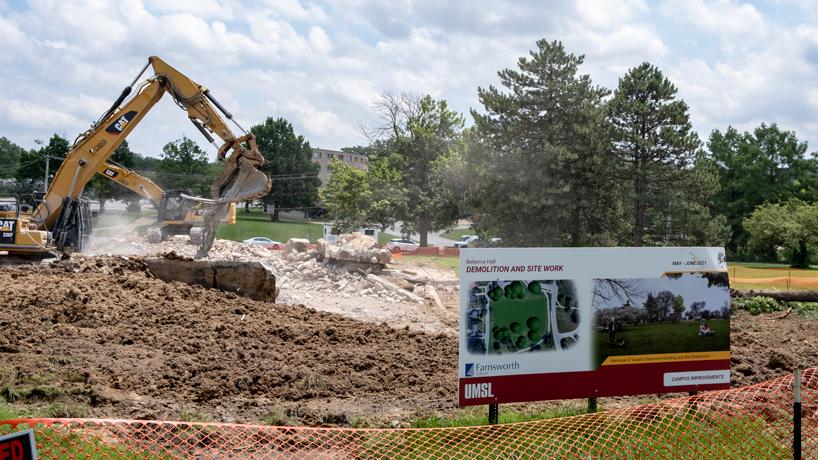 Eye on UMSL: Campus improvements