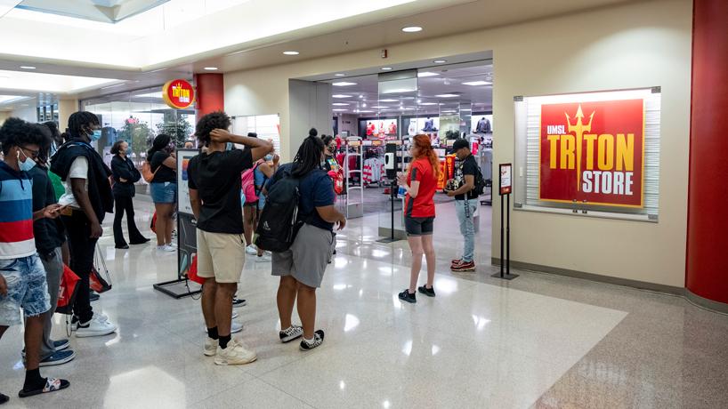 Triton Store tour group
