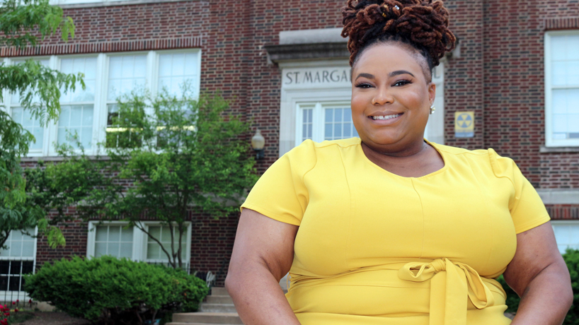 Education alumna Alicia Leathers named new middle school principal at Lift for Life Academy