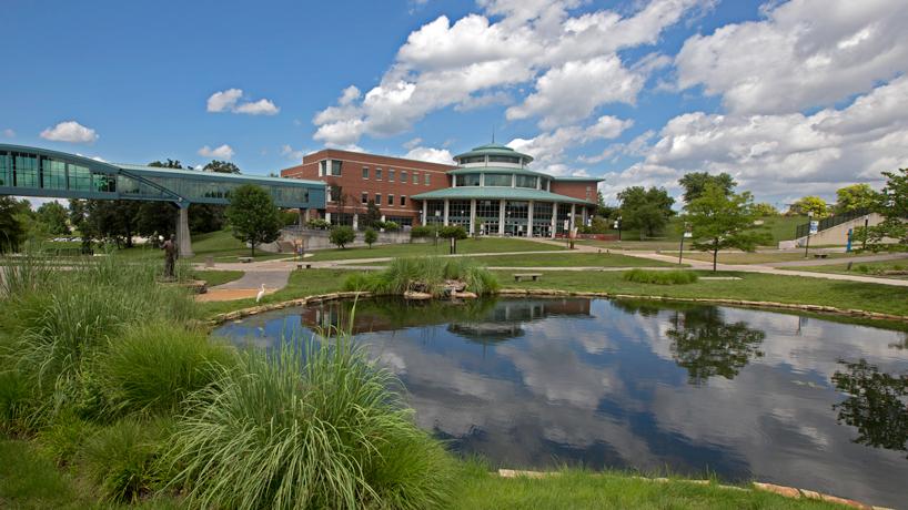 UMSL North Campus Egret Pond