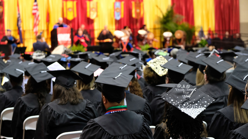 UMSL graduation commencement ceremony