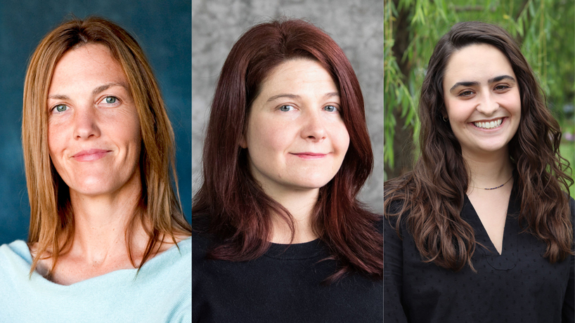 Beth Huebner, Lee Slocum, Andrea Giuffre