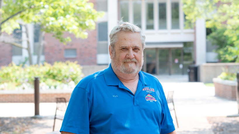 Love of music brings Mark Briguglio back to college, almost 50 years after he started, to earn degree