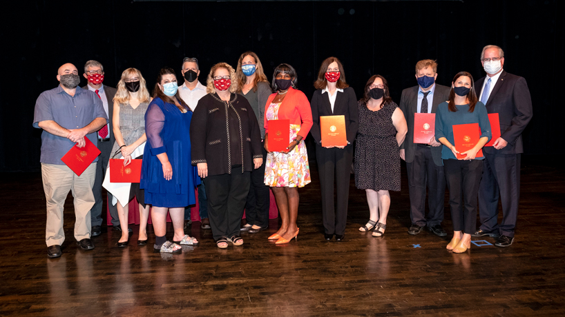 UMSL faculty and staff honored with Chancellor's Awards