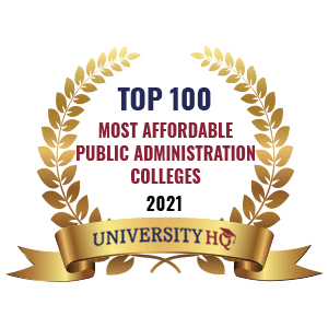 Best Affordable Public Administration Colleges