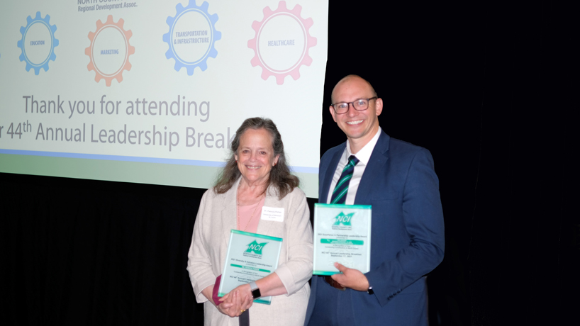 Karl Guenther, Patricia Parker honored at North County Inc.'s 44th annual Leadership Breakfast
