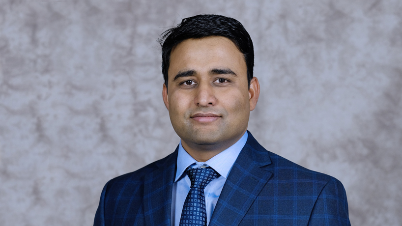 Assistant Professor Vivek Singh's research aimed at addressing practical problems of industry