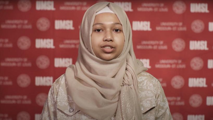 Opportunity Scholars student Afina Fayez